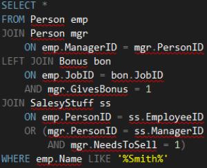SQL-sample-dark-code