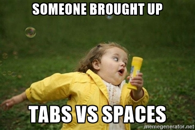 tabs-vs-spaces-run-away