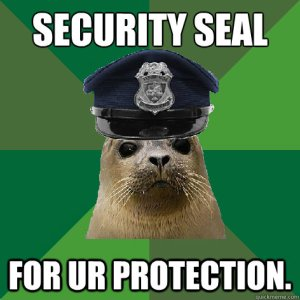security seal for ur protection