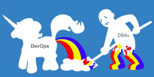 devops-unicorn-dba-cleaning-up