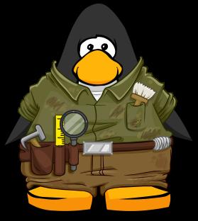 penguin archaeologist