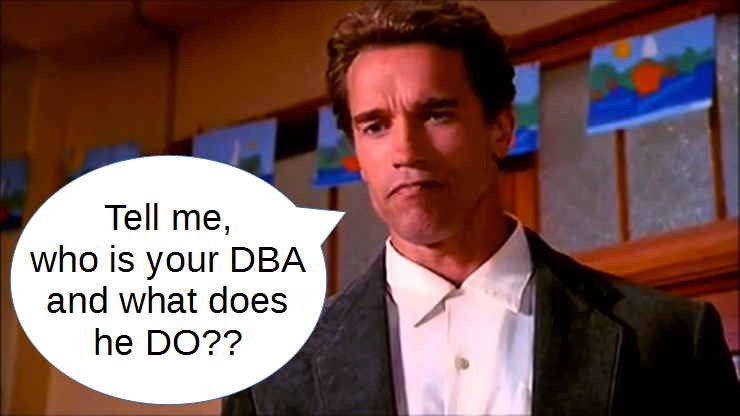 who is your DBA and what does he do