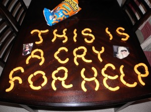 cry for help cheeto puffs