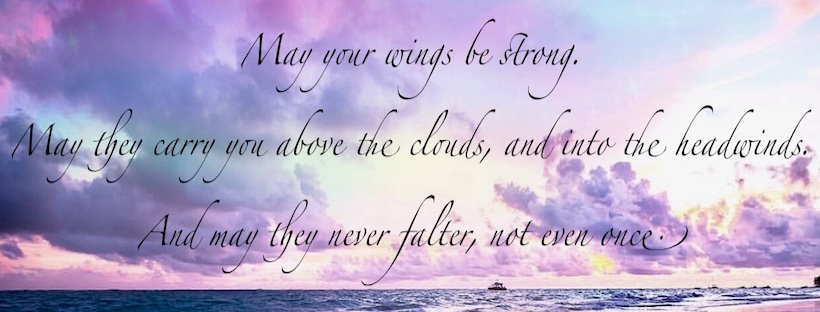 may your wings be strong