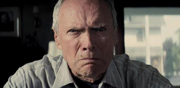 clint eastwood frowning angrily