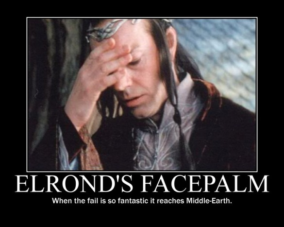elrond's facepalm